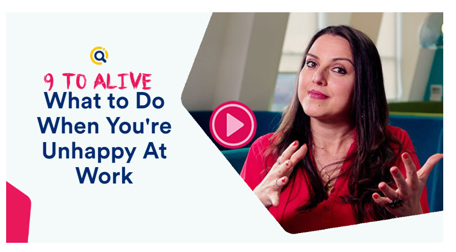 what to do when you are unhappy at work
