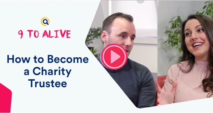 become a charity trustee