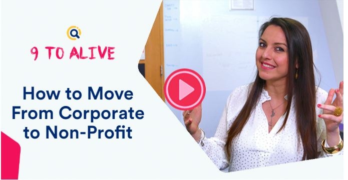 How to Move From Corporate to Non-Profit